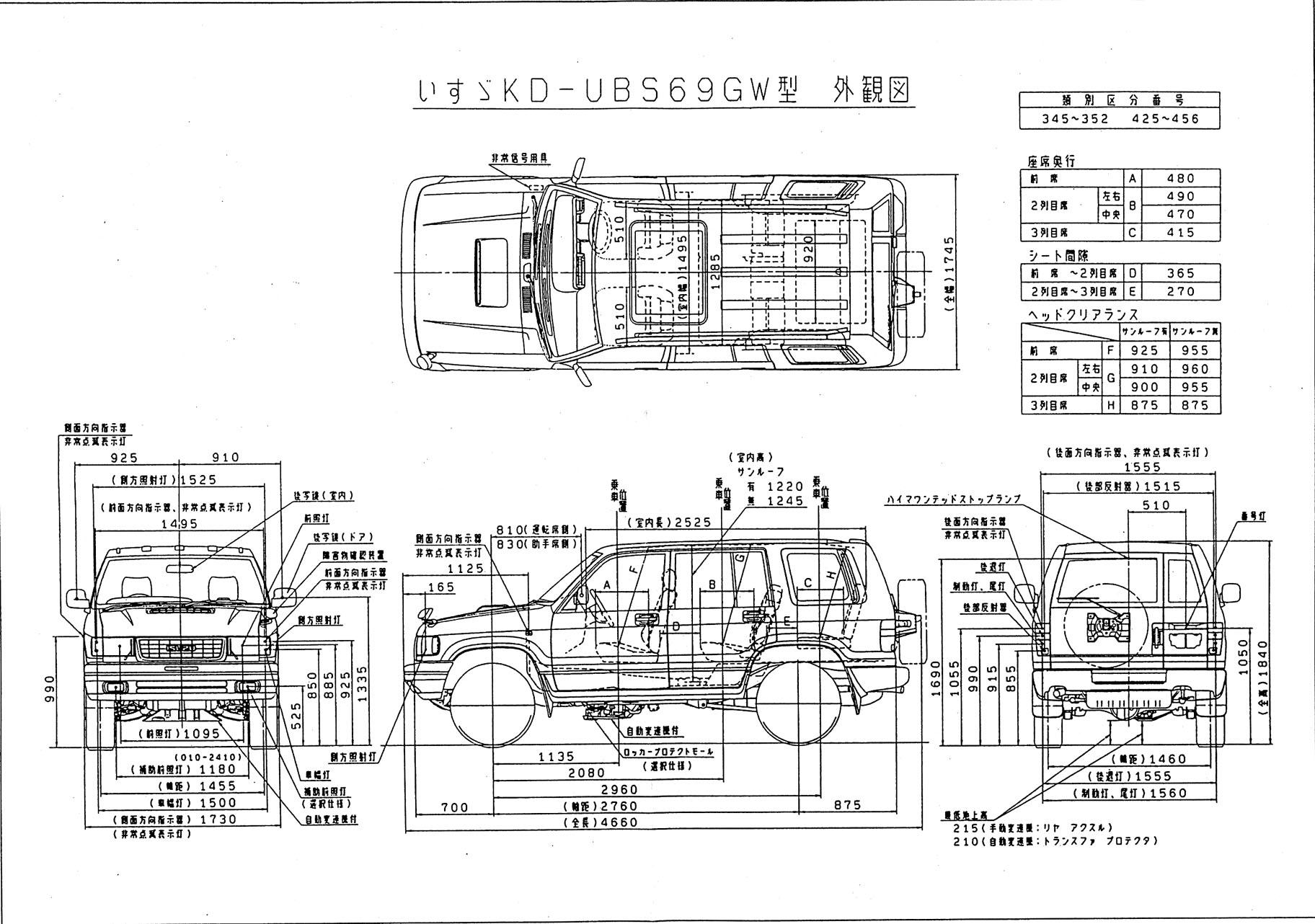 Big Horn Isuzu Tod Wiring Diagram Library 1990 Truck Trooper Japan Accessories Catalog